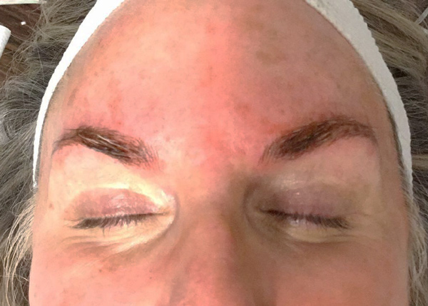 Before Phibrows Microblading